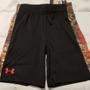 UA youth shorts